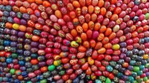 Ukranian Easter eggs, aka pysanky